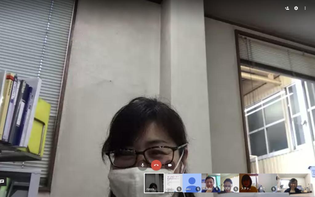 オンラインによるメンバーミーティングを行いました